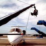 Griphouse Mallorca JimmyJib Shooting Airport PMI for Vodafone