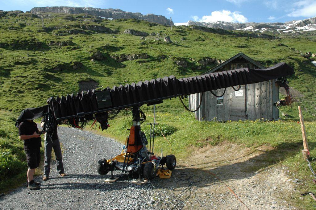 Shooting Switzerland at Klausenpass for Swiss Tourism Bureau Griphouse Mallorca Moviebird30