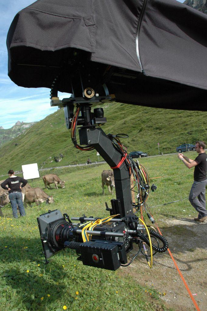 Shooting Switzerland at Klausenpass for Swiss Tourism Bureau