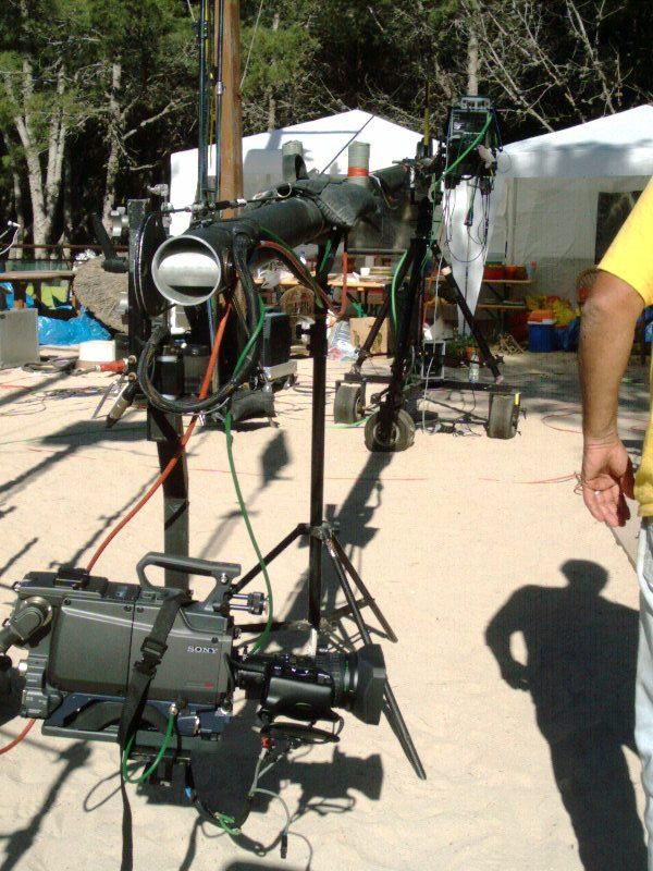 Stanton JimmyJib on Production Mallorca